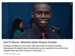 Naison Gumbo